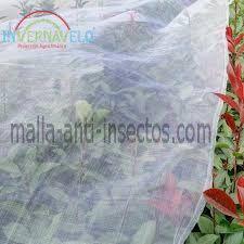 malla anti insectos en huertos